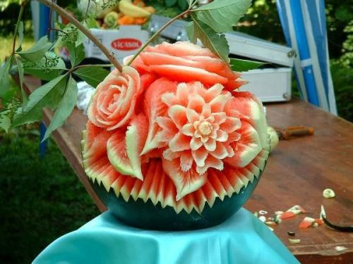 flower-watermellon