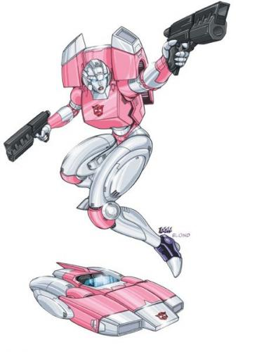 arcee dreamwave.thumbnail Arcee Television Sexy Fantasy   Science Fiction Comic Books