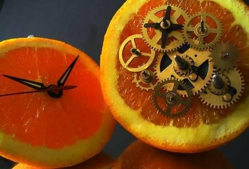 citrus-fruit-clock