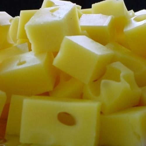 cubes-of-cheese