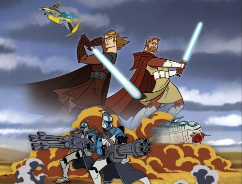 Clone Wars Wallpaper. Star Wars – Clone Wars