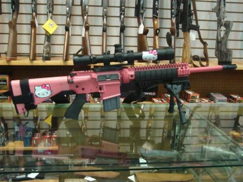 hello kitty rifle.thumbnail Hello Kitty Rifle Humor