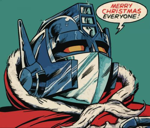 merry christmas optimus prime.thumbnail Optimus Prime X Mas Wishes X Mas Wallpaper transformers Comic Books