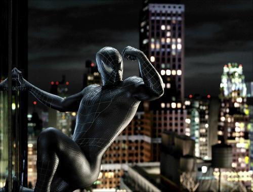 black-spider-man