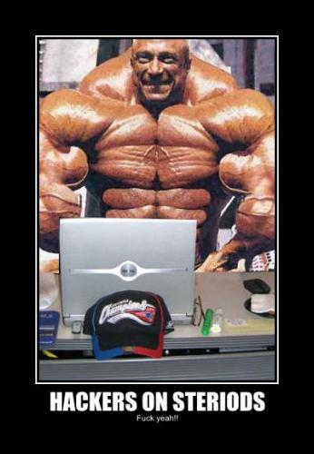 hackers on steroids.thumbnail Hackers On Steroids wtf Humor Forum Fodder