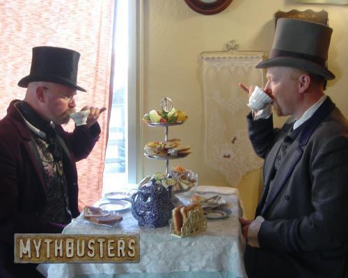 mythbusters tophats.thumbnail Mythbusters Tophats Television Sexy