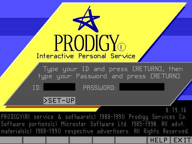 prodigy screen log myconfinedspace