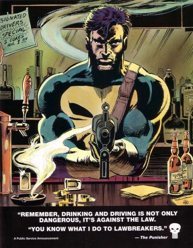 punisher dui.thumbnail The Punisher Hates DUIs Comic Books Alcohol
