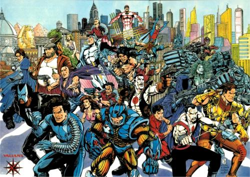 valiant.thumbnail Valiant Heroes Comic Books