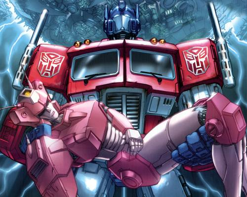 optimus dead arcee.thumbnail Optimus Prime   The Death of Arcee Sad :(