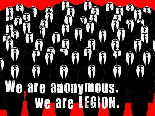 anonymous legion crowd.thumbnail Anonymous   we are legion Humor Forum Fodder