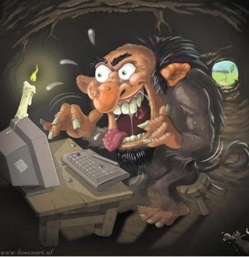 internet troll.thumbnail Internet Troll Forum Fodder