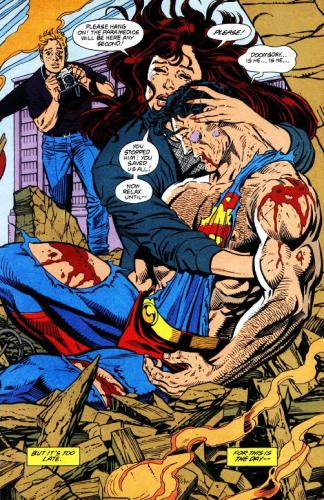 1188339809495.thumbnail Death of Superman Comic Books