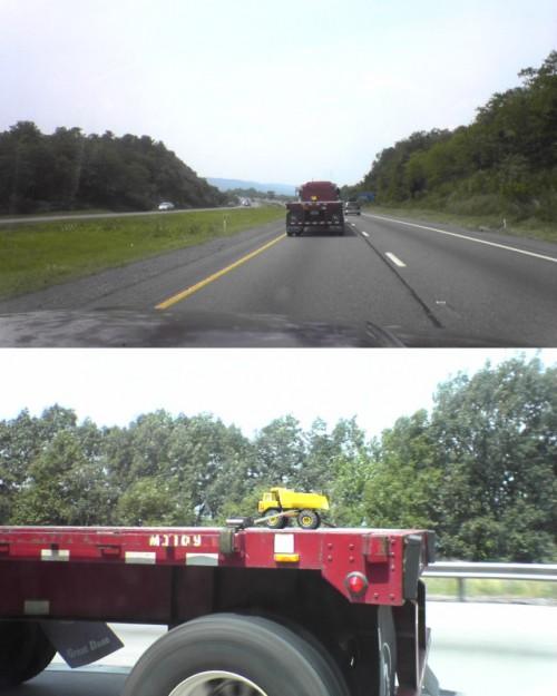 huge load 500x625 Monster Truck Load Humor