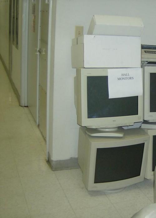 hall monitors 500x700 Hall Monitors Humor Computers