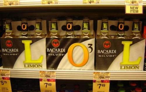 lolstore 1 500x316 Bacardi LOL Humor Alcohol