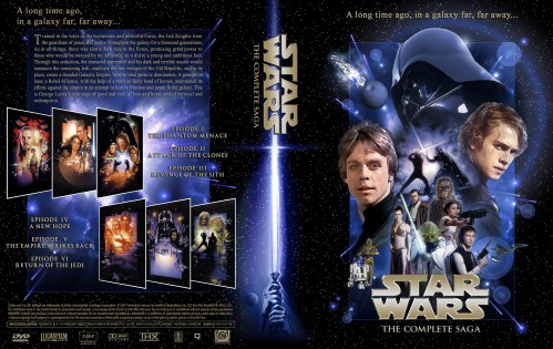Star Wars – The Complete Saga DVD Cover. Posted on May 19, 2008 by tiki god