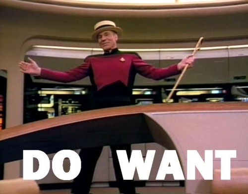 captain picard - do want