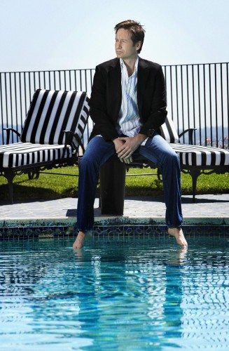 david duchovny - Poolside 1