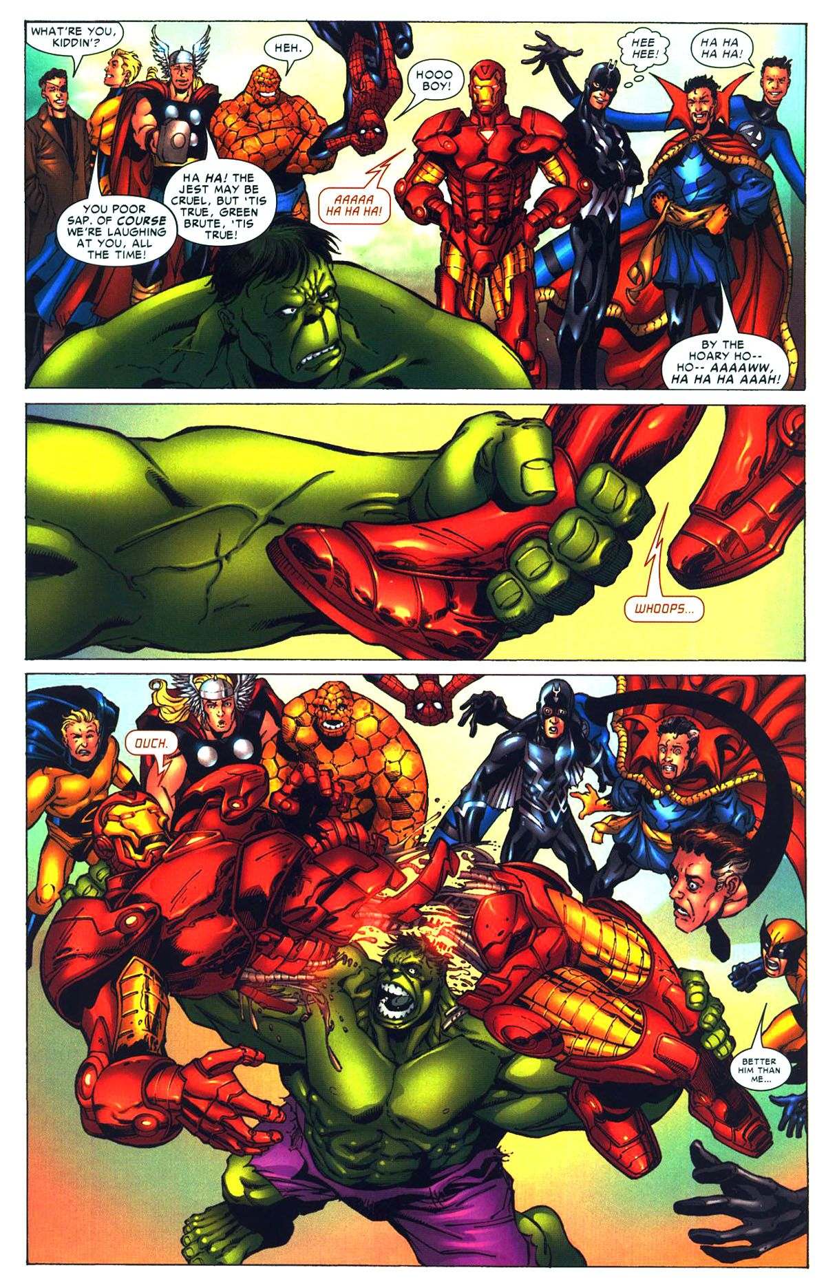 Hulk Kills Iron Man Myconfinedspace Circuit Superhros Marvel Comics Logostore