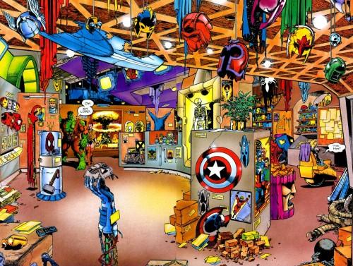 hulk trophy room