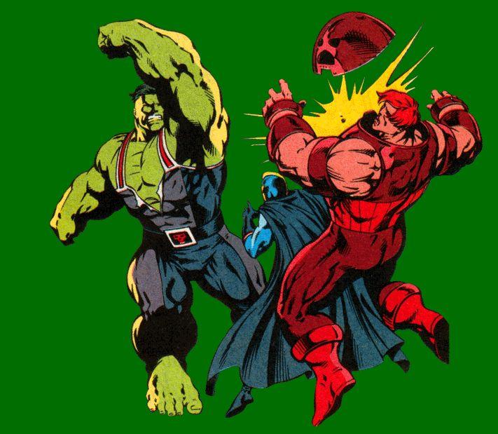 Incredible Hulk Vs Juggernaut Myconfinedspace