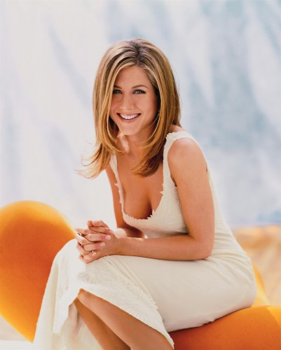 jennifer aniston - low cut top