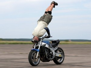 Motorcycle Headstand