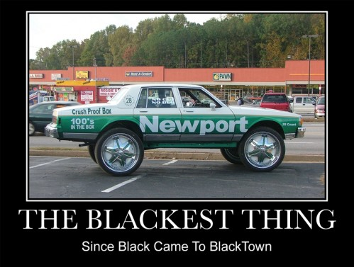new port ghetto car