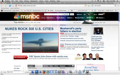 nukes rock us cities