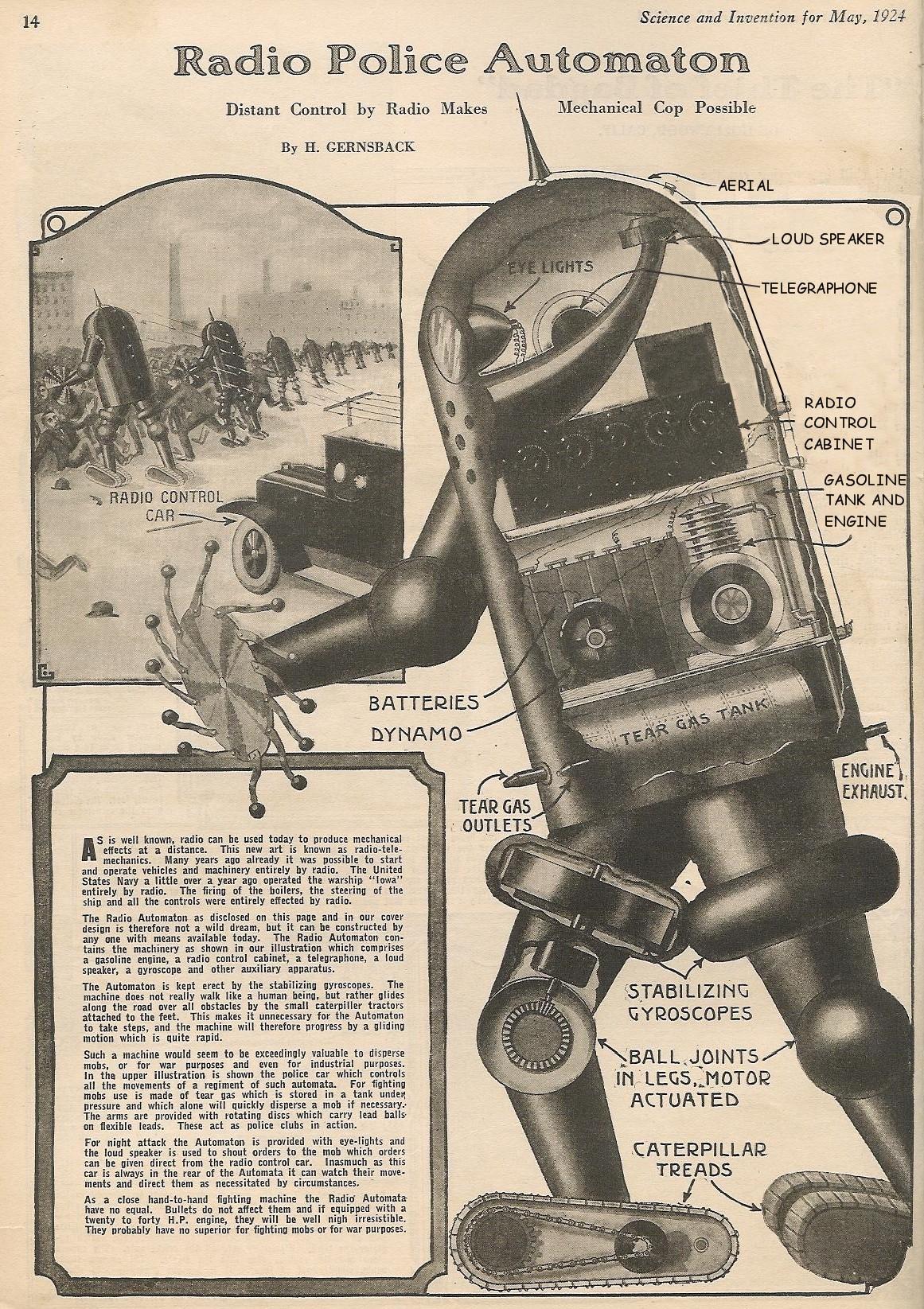 police-robot