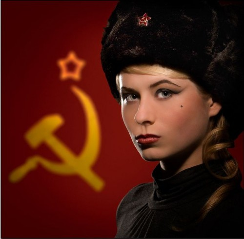 sexy russian 500x490 Sexy Commie Sexy Politics