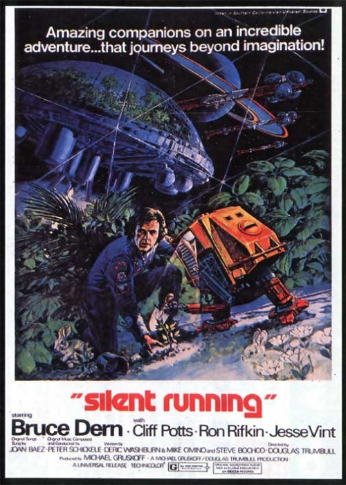 silent running 500x700 Silent Running Movie Poster Movie posters Fantasy   Science Fiction