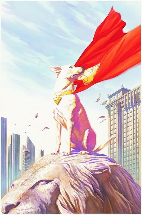 sm cv680 solicit 500x754 Kryto  The Super Dog Comic Books