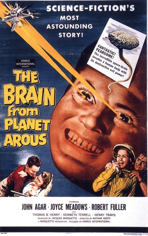 the brain from planet arous 500x796 the brain from planet arous Movies Fantasy   Science Fiction