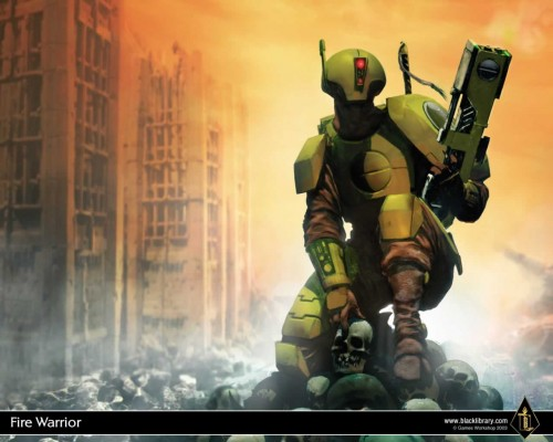 Warhammer 40k - Tau Firewarrior
