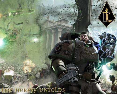 Warhammer 40k - The Heresy Unfolds Wallpaper