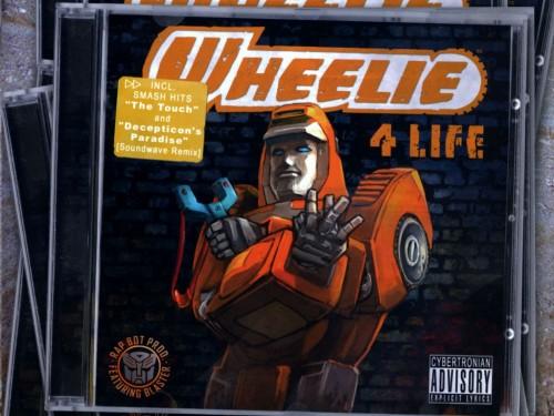 Wheelie For Life - Cybertronian Advisory