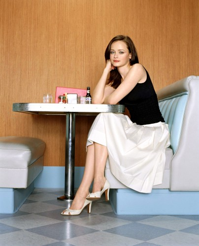 Alexis Bledel - tv guide shoot