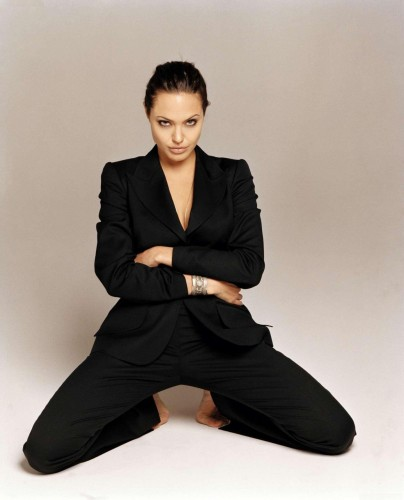 Angelina Jolie - Spread Eagle