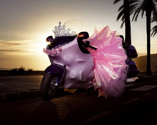 ballerina motorcycle 500x400 Ballerina Motorcycle Wallpaper Cars