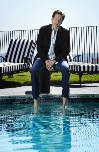 david duchovny - poolside 2
