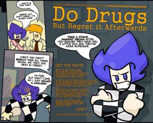 do drugs - but regret it afterward