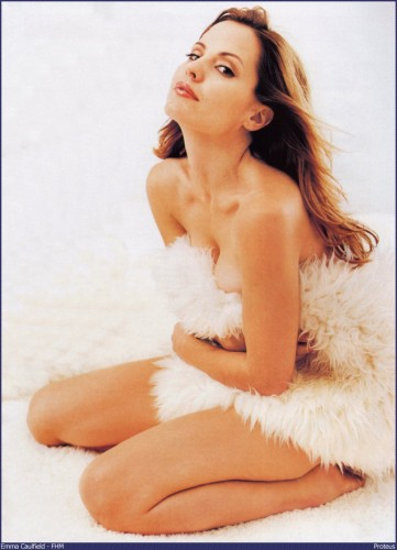 Emma Caulfield in fur