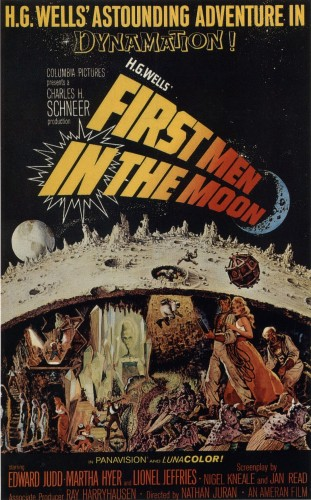 First Men in The Moon movie poster