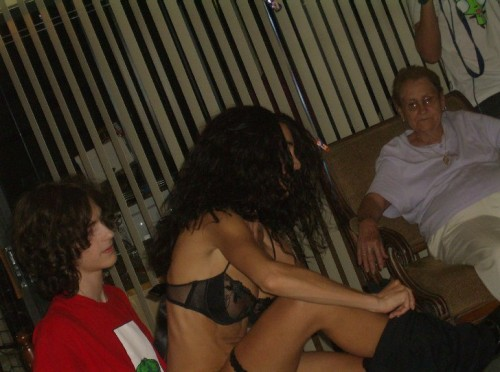 grandma loves strippers