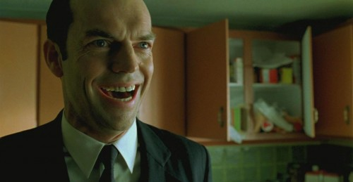 Happy Agent Smith