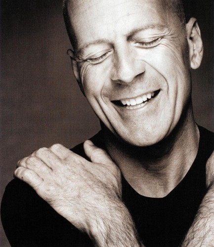 happy bruce willis