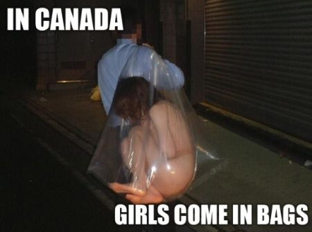 in canada girls come in bags in canada girls come in bags