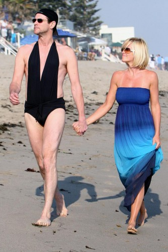 jenny mccarthy and jim carey swimsuit sexiness